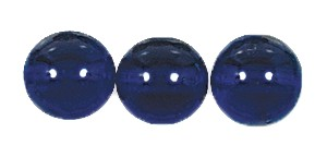 Druk Smooth Round Beads #4150 12mm Dark Sapphire (300 Pieces) (LOOSE) - CLEARANCE